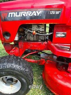 Ride on lawnmower Petrol 12.5hp Briggs & Stratton Engine