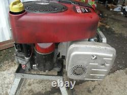 Ride on mower Vertical 12.5 HP I/C Briggs & Stratton Petrol Engine Hayter