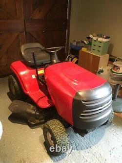 Ride on mower and trailer, Briggs and Stratton petrol engine