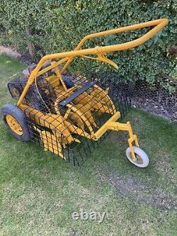 Sisis Auto Outfield Spiker Aerator Briggs Stratton Engine Incl Vat. Send Carrier
