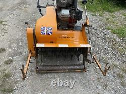 Sisis Rotorake 600 Petrol Scarifier With Briggs And Stratton 13hp Engine