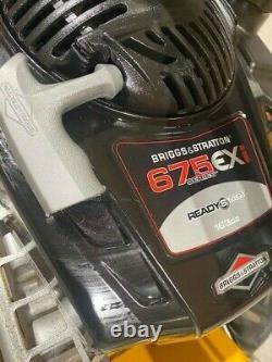 Stiga Silex 95b With Grassland Mower Attachment Briggs & Stratton Engine
