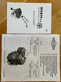 Titan Pro 600 Rotovator / Tiller with 6.5HP Briggs & Stratton Engine