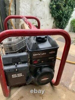 Used petrol generator briggs and stratton