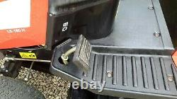 Used petrol ride on lawn mower Briggs and Stratton engine