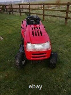 Used petrol ride on lawn mowers. Briggs Stratton engine. 40 inch deck