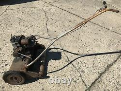 Vintage Wards Master Quality Power Lawn Reel Mower 5S Briggs and Stratton