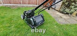 Webb Supreme RR17P 17 Petrol Rotary Mower With Rear Roller briggs and stratton