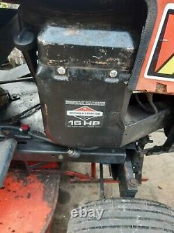 Westwood ride on mower 16hp 2 cylinder briggs and stratton engine
