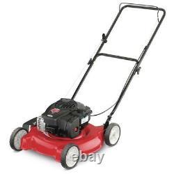 Yard Machines Push Lawn Mower 20 in. 125 cc Gas Briggs And Stratton